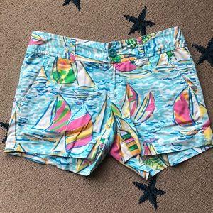 Lilly Pulitzer u gotta regatta shorts